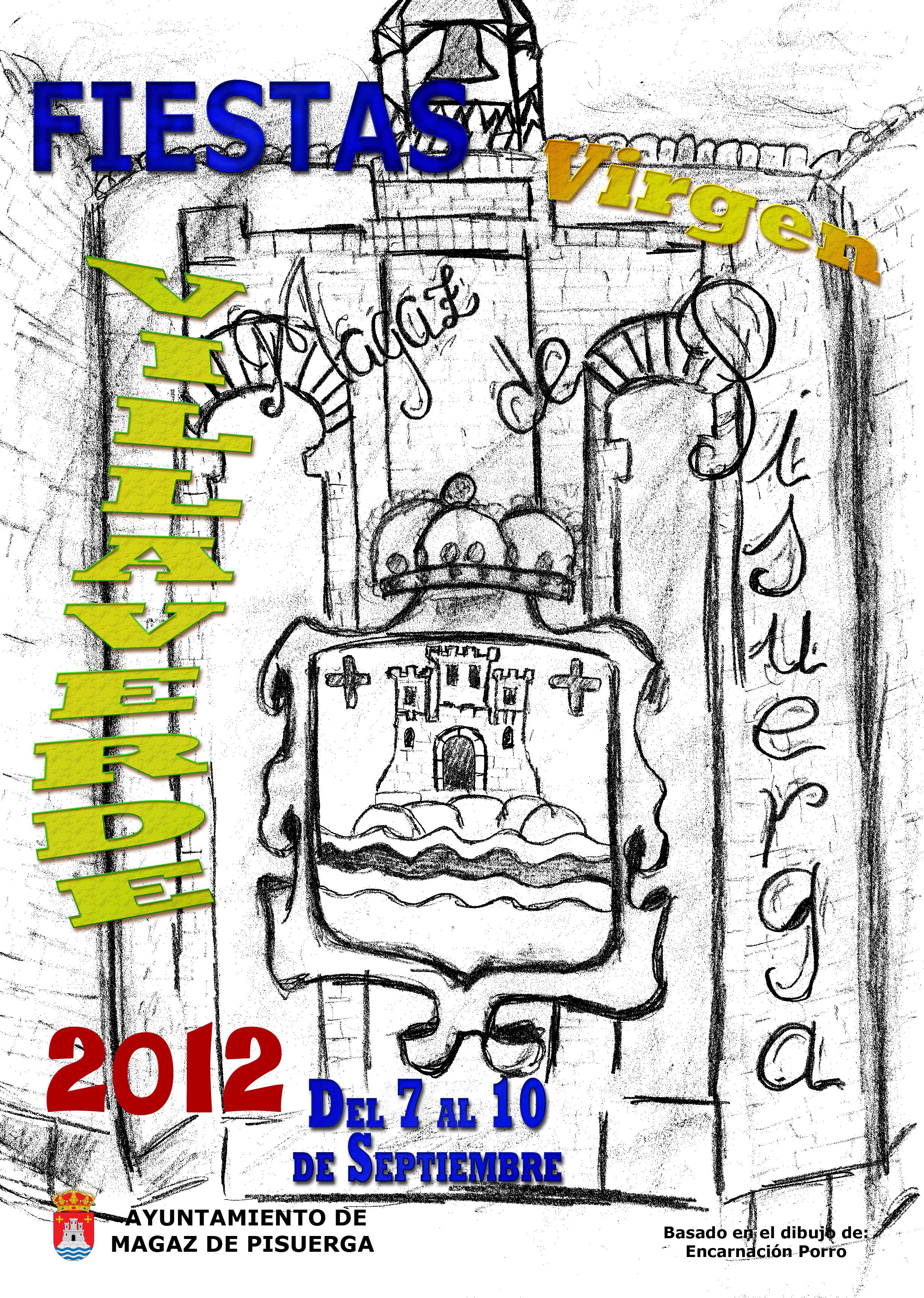 Programa de fiestas «Virgen de Villaverde» 2012