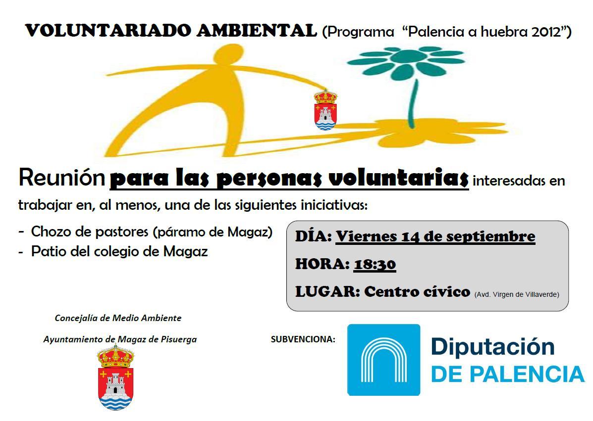 """VOLUNTARIADO AMBIENTAL (Programa """"Palencia a huebra 2012"""")"""