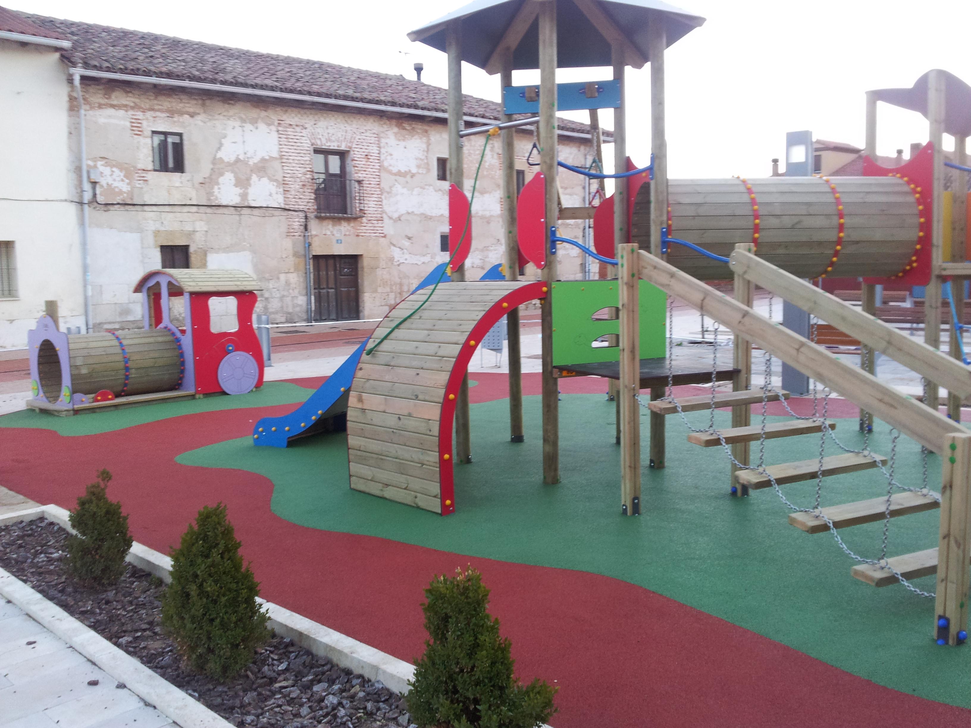 Nuevos espacios de recreo infantil