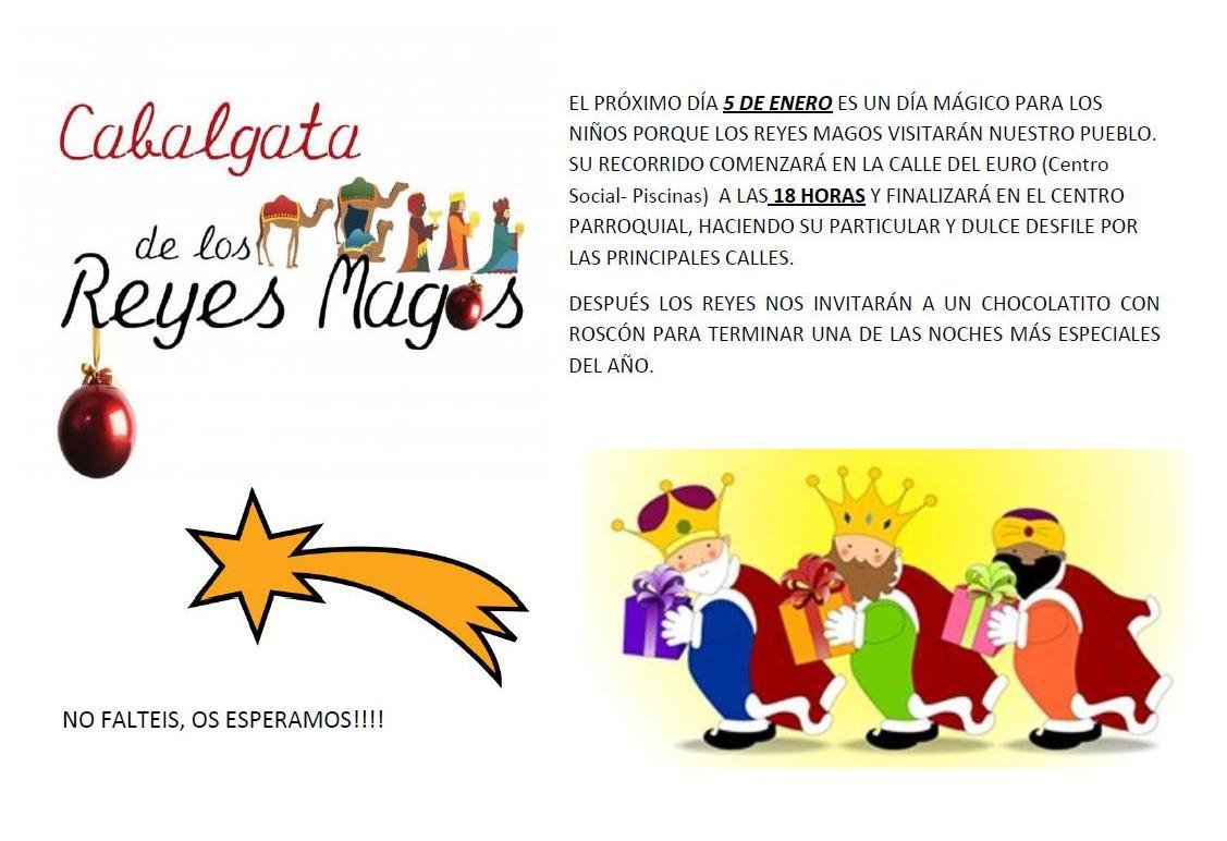 Cabalgata de los Reyes Magos 2013