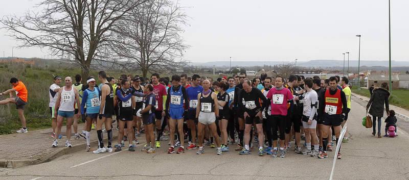 Media maratón en Magaz de Pisuerga 2013