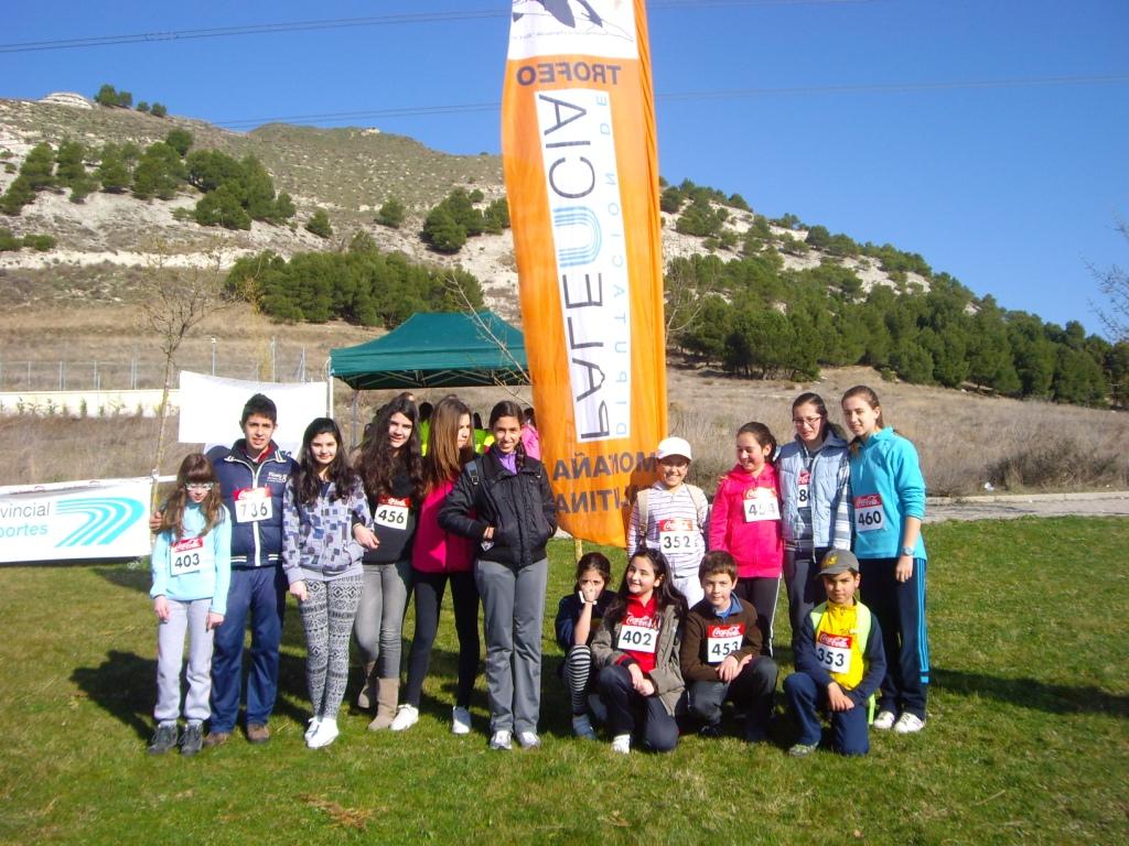 Campeonato provincial escolar de orientacion 2014