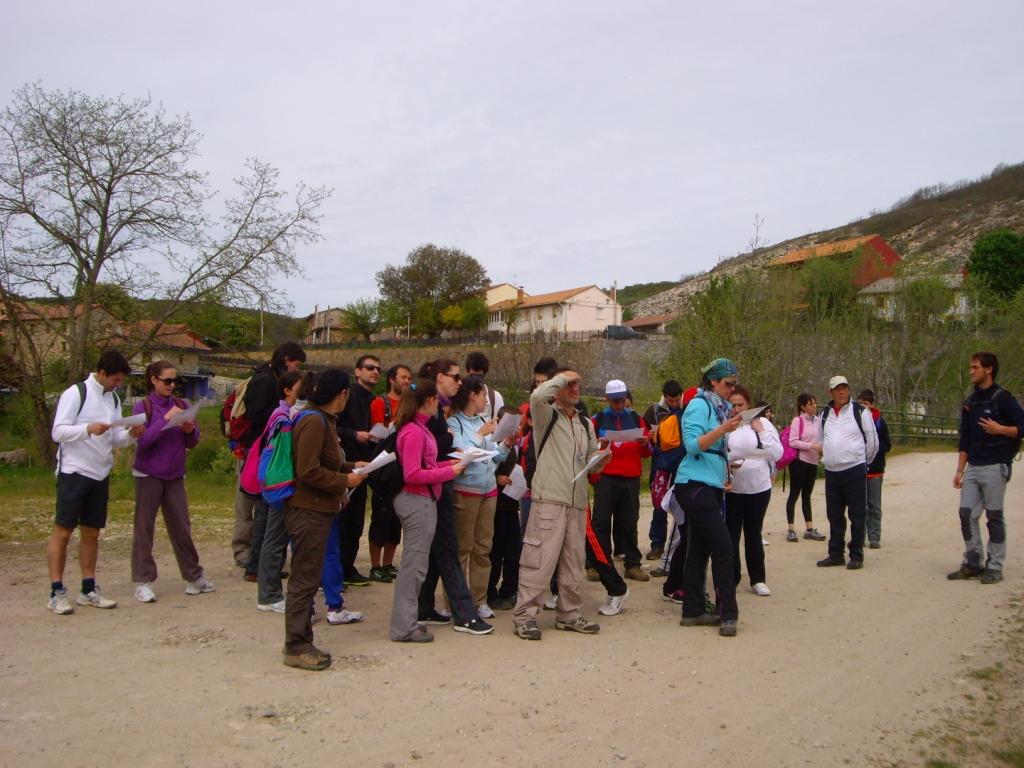 Ruta bosques de Camporredondo 2014