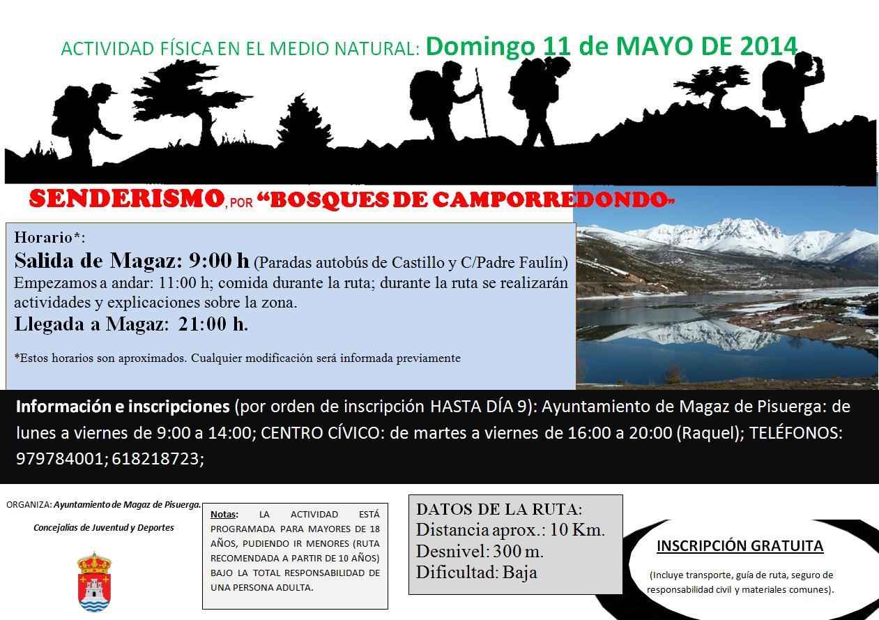 Senderismo por «Bosques de Camporredondo»