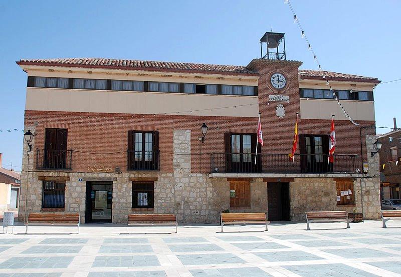 Magaz de Pisuerga Spain  city images : ... de conexión en el ámbito de la plaza de españa situada en el