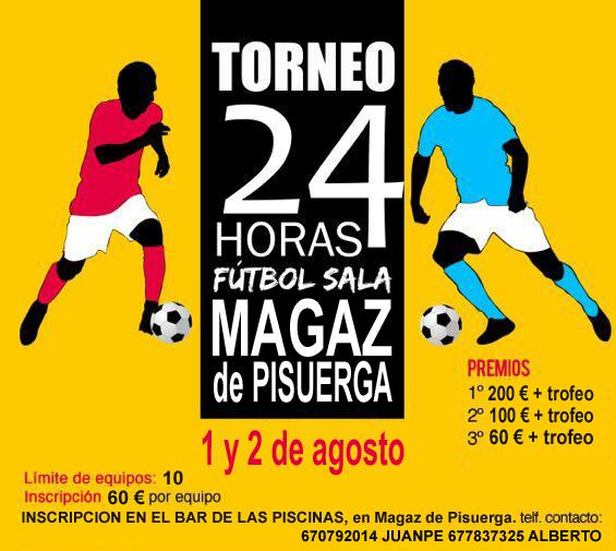 Torneo de fútbol sala en Magaz de Pisuerga
