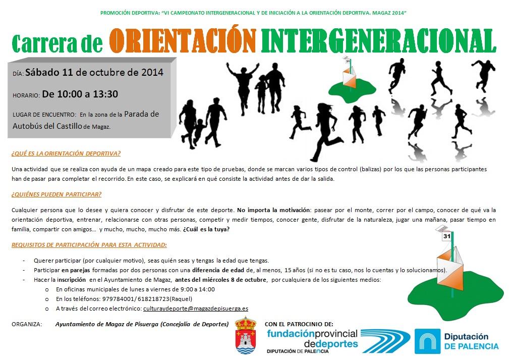 Carrera de ORIENTACIÓN INTERGENERACIONAL