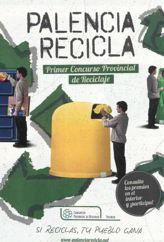¡Palencia recicla! Primer concurso provincial de reciclaje