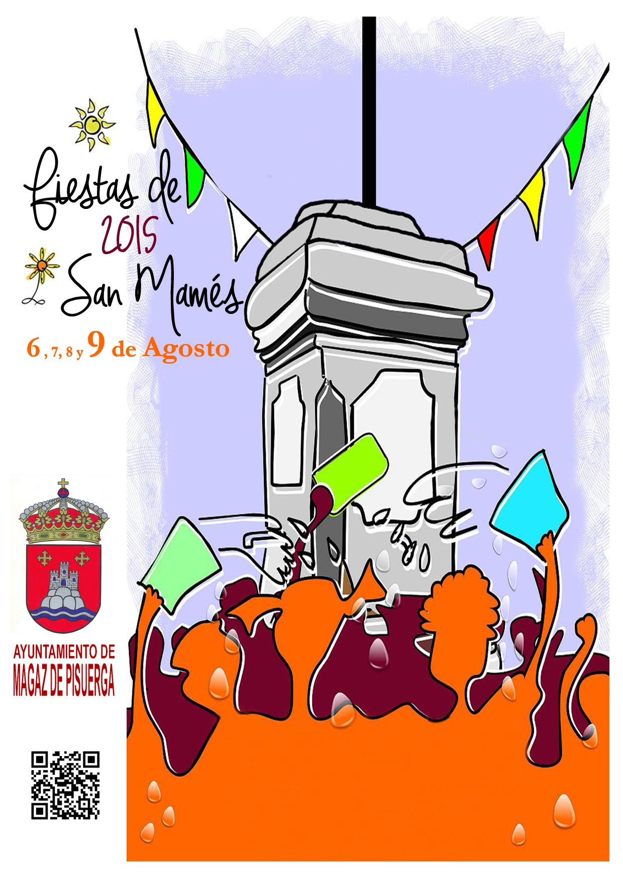 Programa de fiestas «San Mamés 2015»