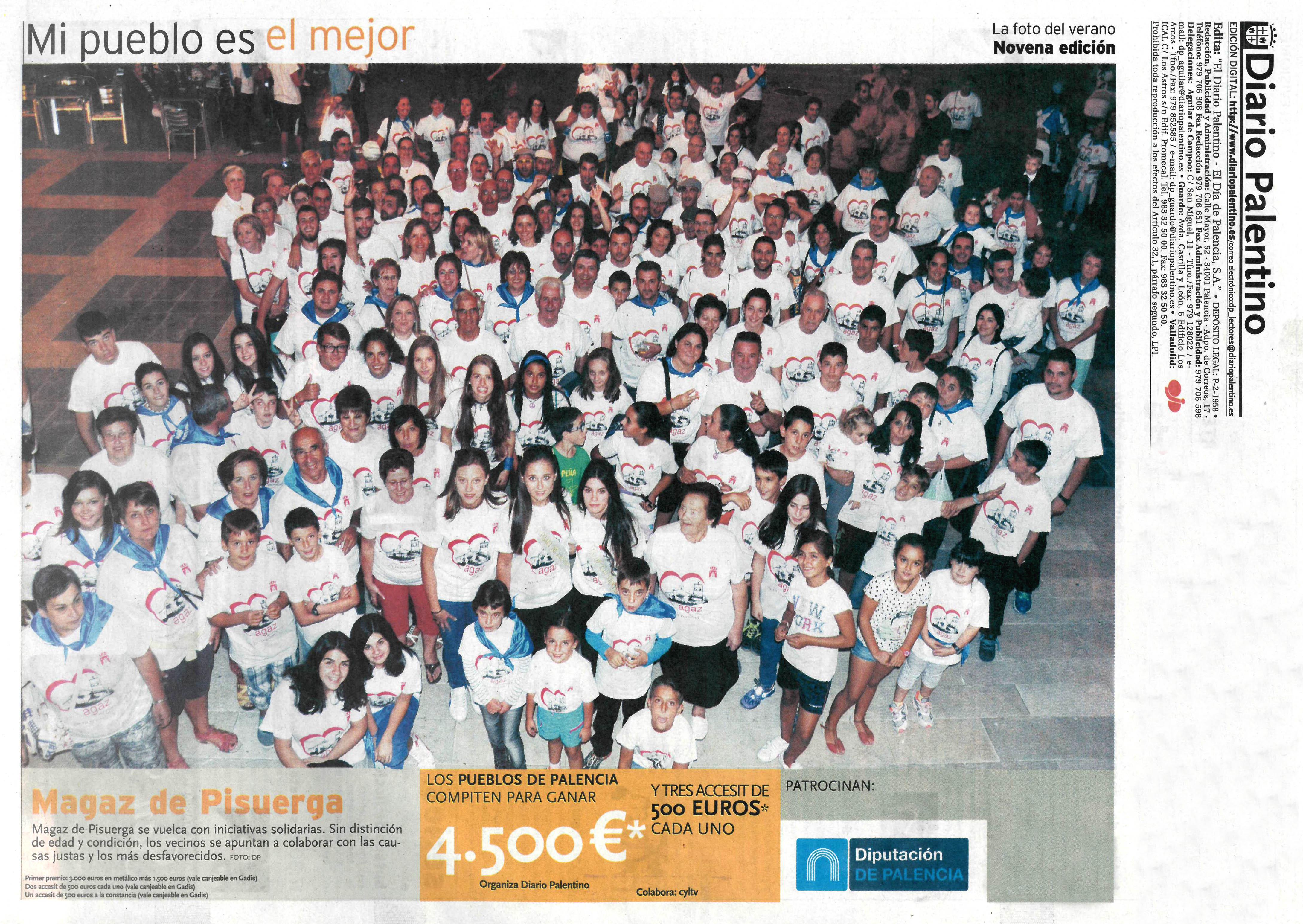 Fotografía del concurso «Mi pueblo es el mejor»