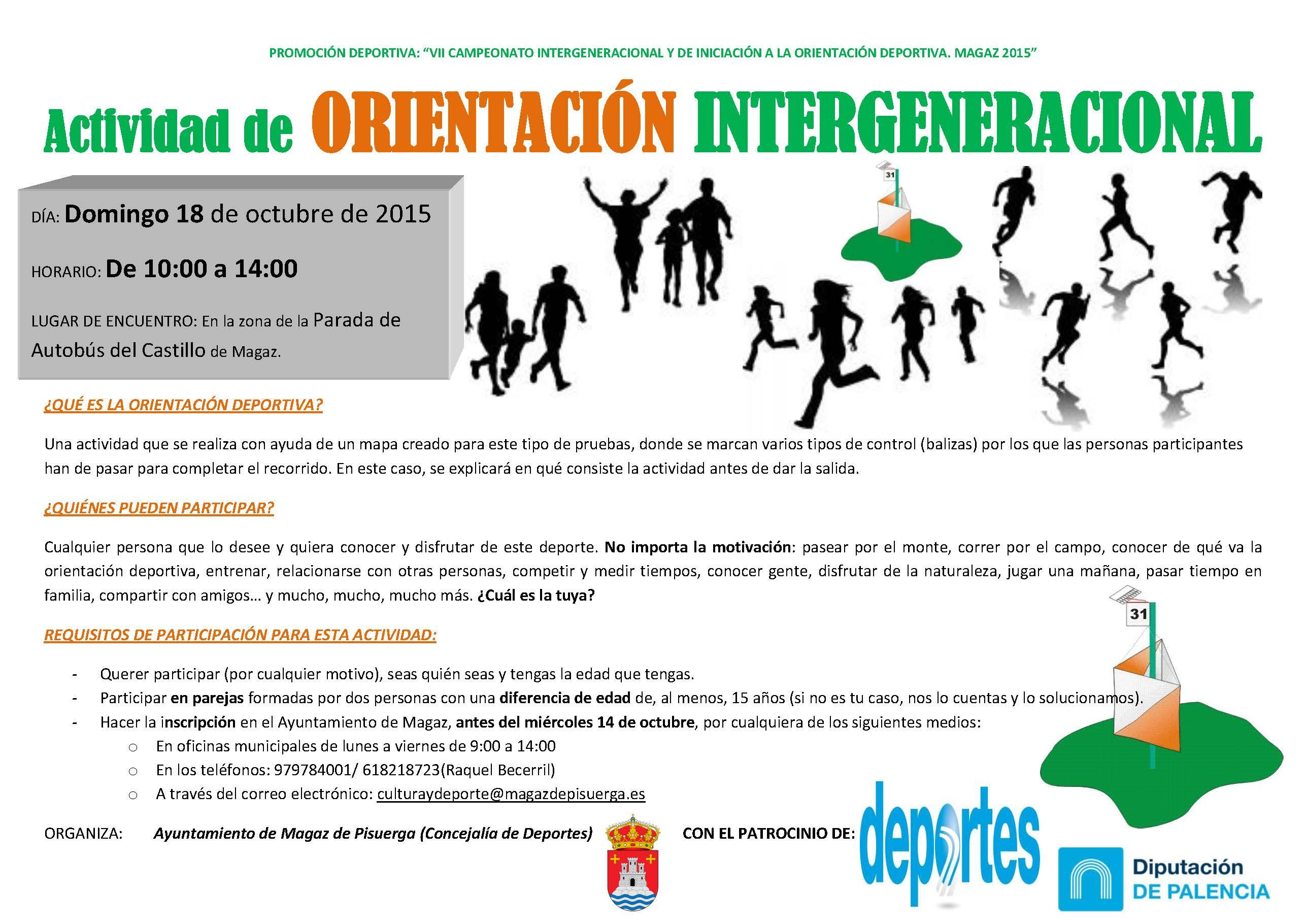 Actividad de ORIENTACIÓN INTERGENERACIONAL