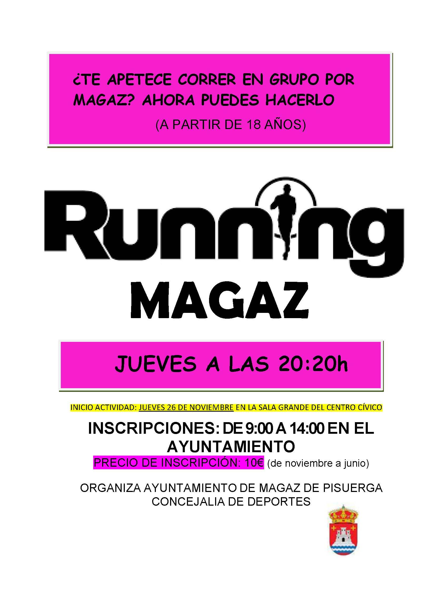 Running por Magaz
