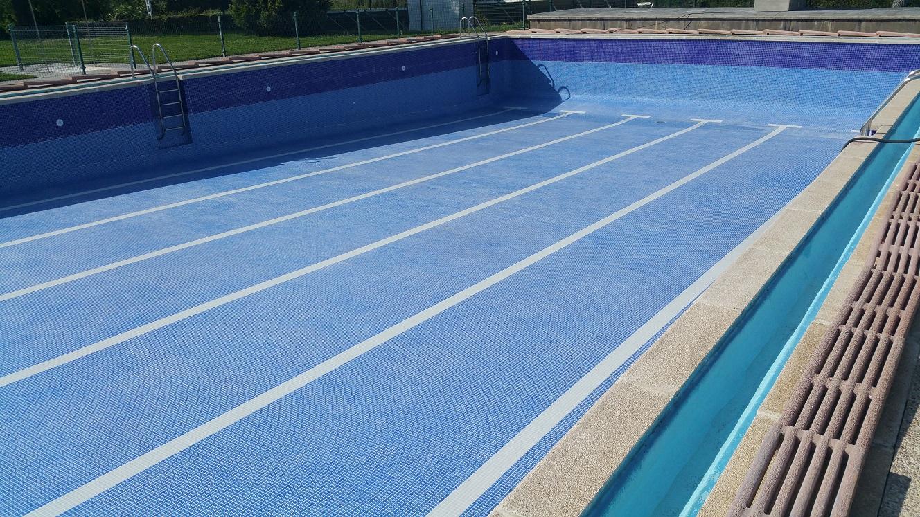 Mejoras y apertura de las piscinas municipales