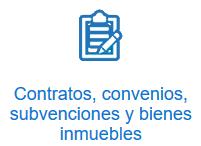 Contratos subvenciones convenios bienes inmuebles