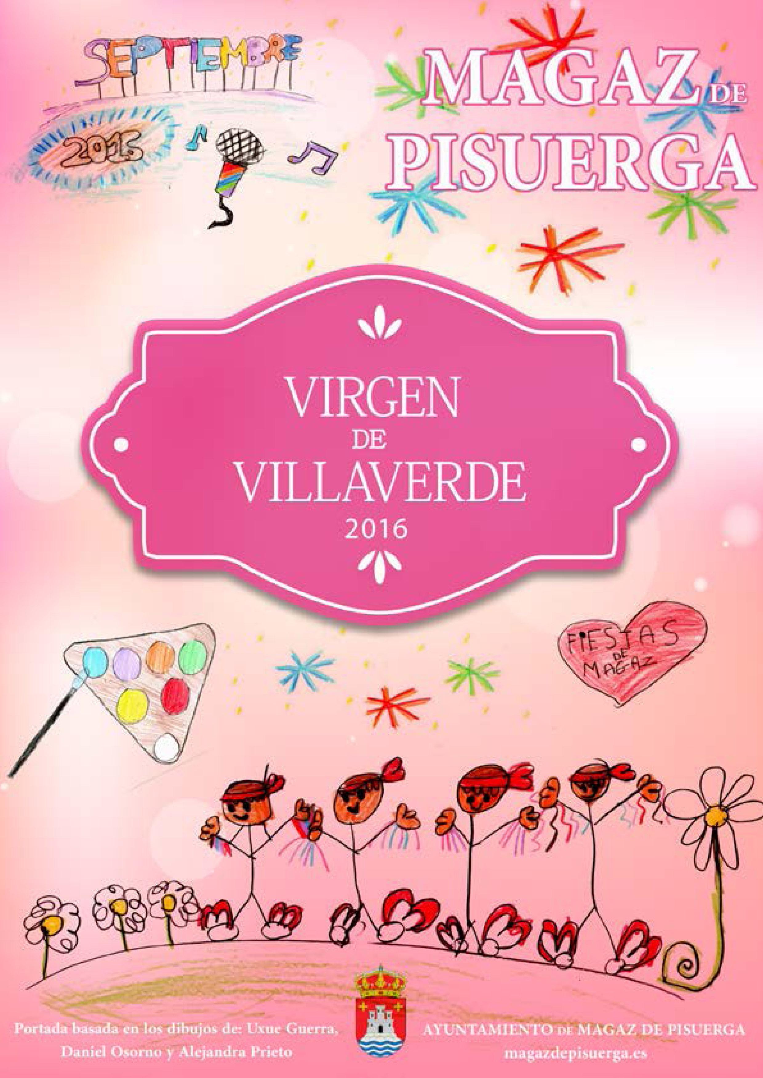 Programa de fiestas «Virgen de Villaverde 2016»