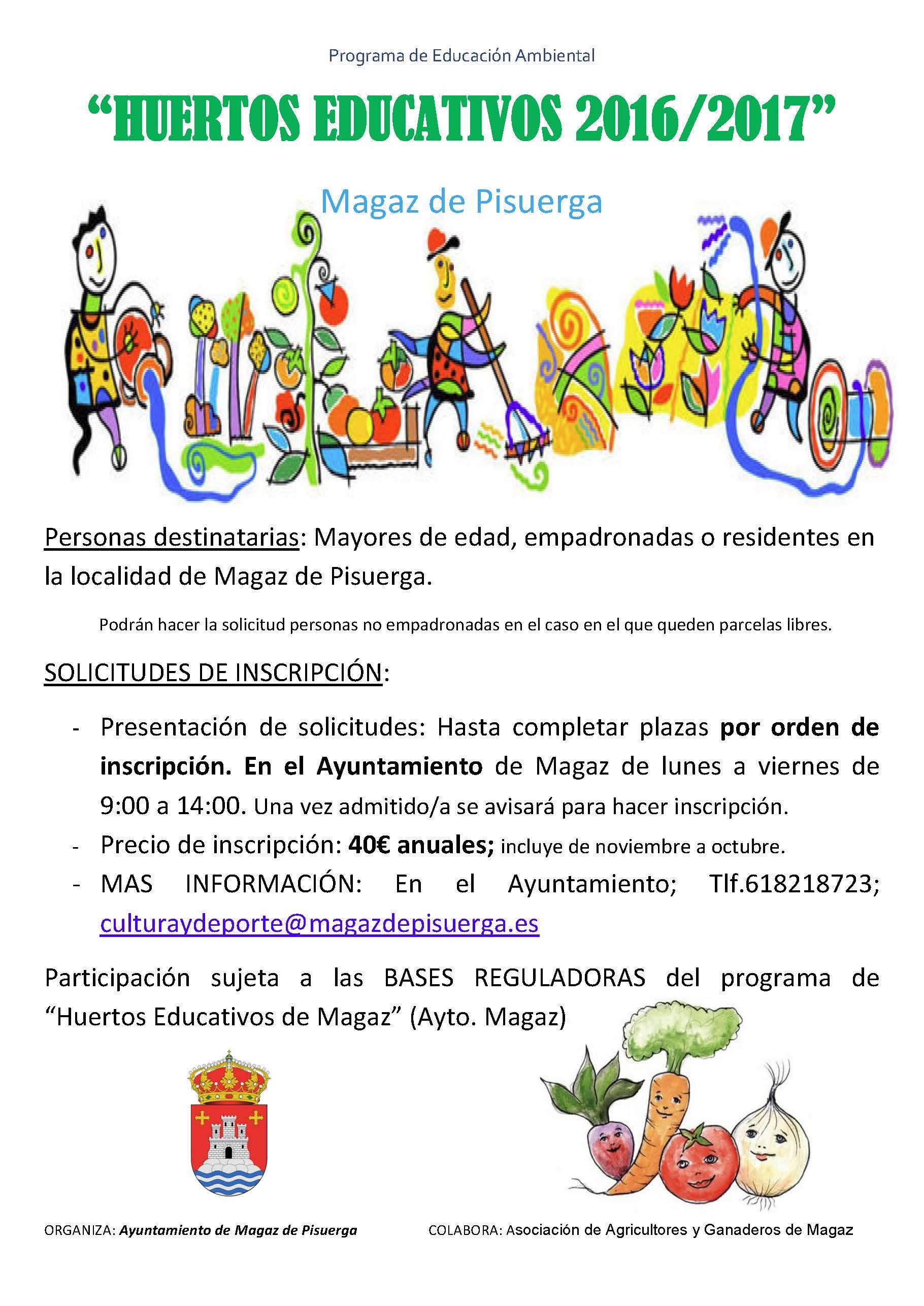 Huertos Educativos 2016/2017