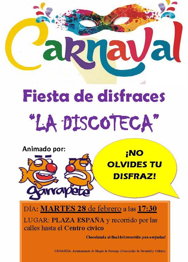 Fiesta CARNAVAL 2017
