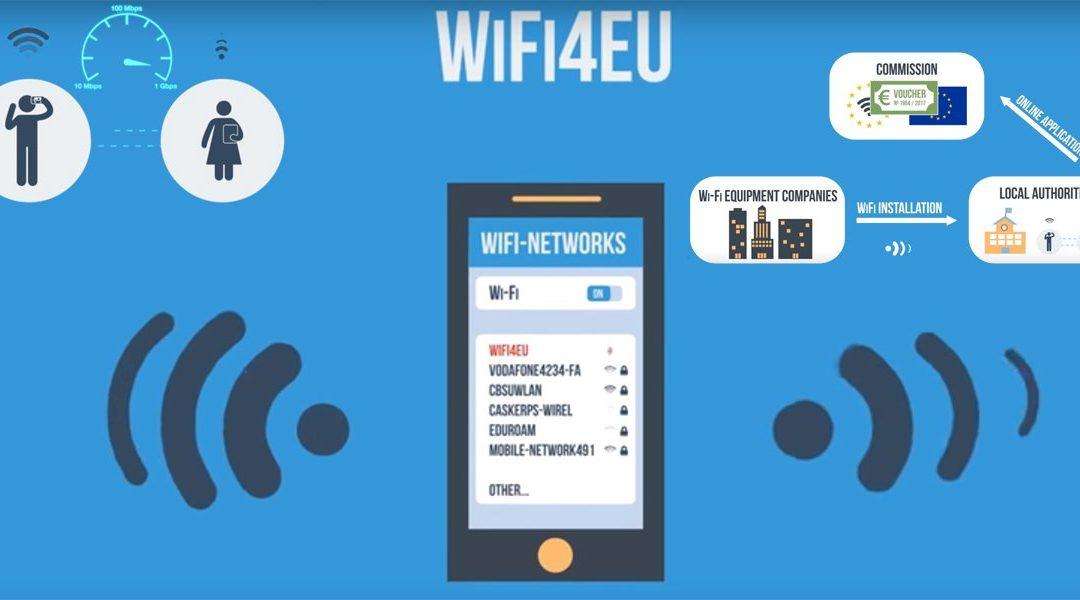 Magaz de Pisuerga consigue una subvención de la Comisión Europea de 15.000 euros para instalar puntos WiFi gratuito