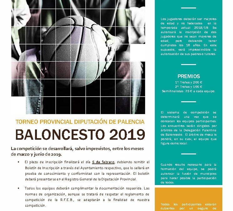 Torneo provinciales 2019 de Diputación de Palencia