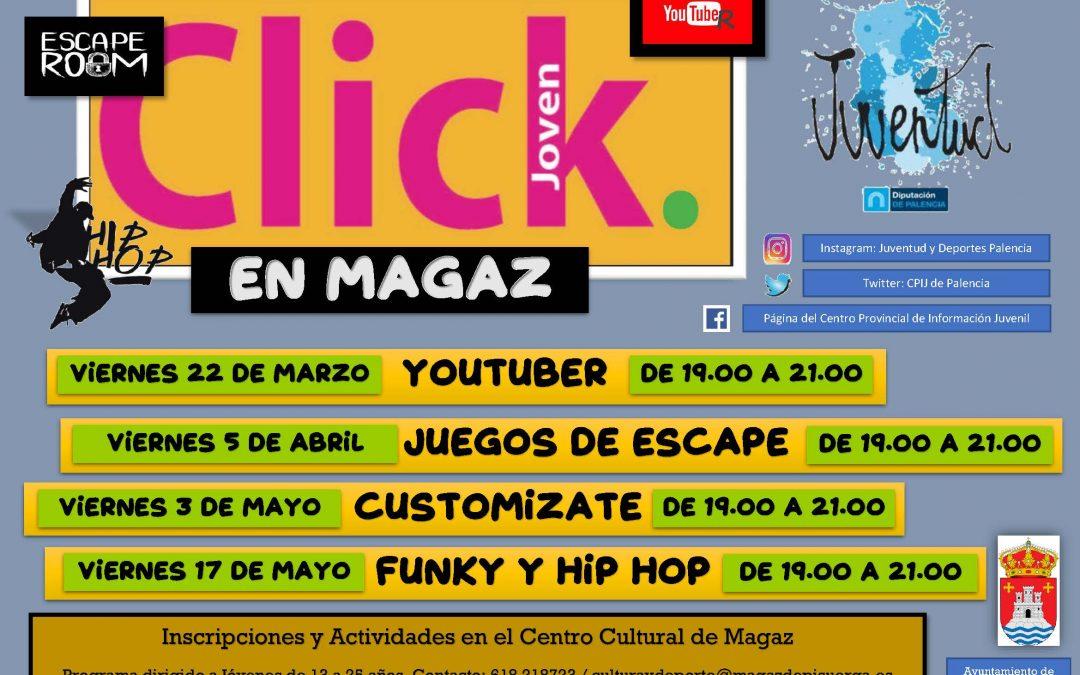 Click joven en Magaz de Pisuerga