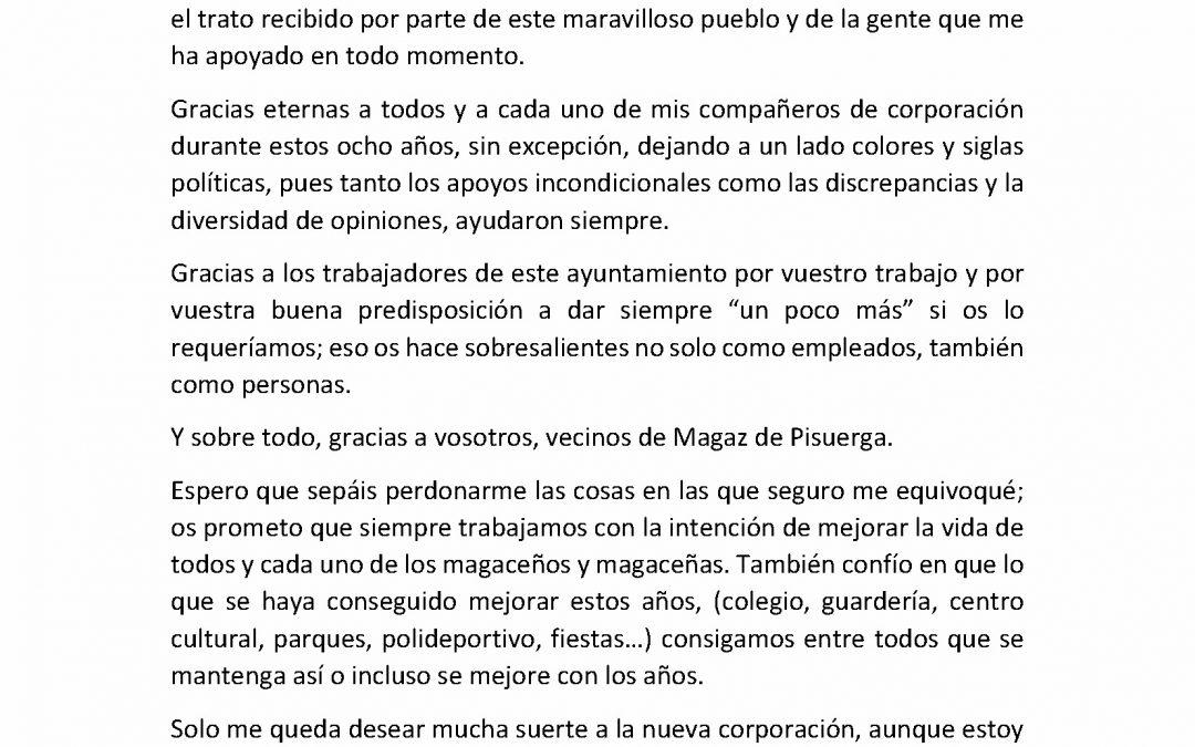 Despedida Luis Alonso Álvarez