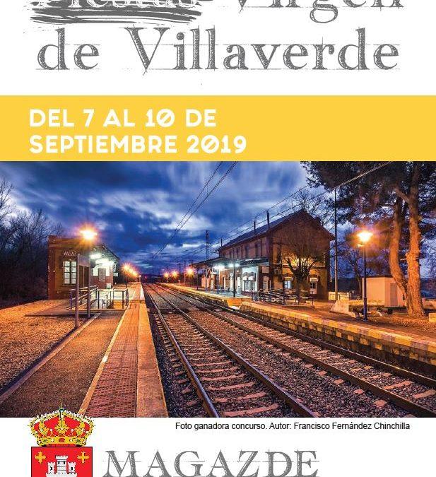Programa fiestas Virgen de Villaverde 2019
