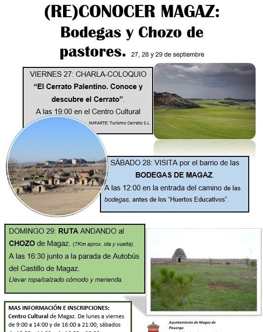 Jornadas de educación ambienta en Magaz de Pisuerga