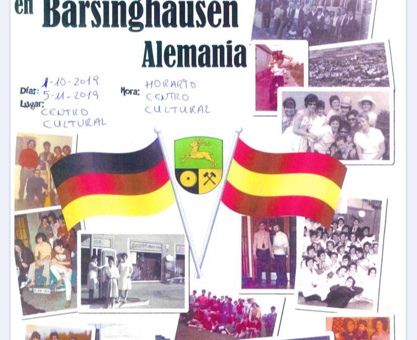 Exposición Emigrantes Palentinos en Barsinghausen en el Centro Cultural de Magaz