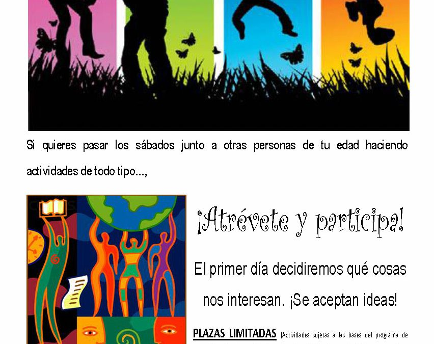 PROGRAMA DE ACTIVIDADES EDUCATIVAS DESTINADAS A INFANCIA/JUVENTUD/APOYO ESCOLAR