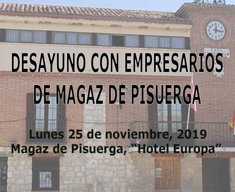 Desayuno con empresarios de Magaz de Pisuerga