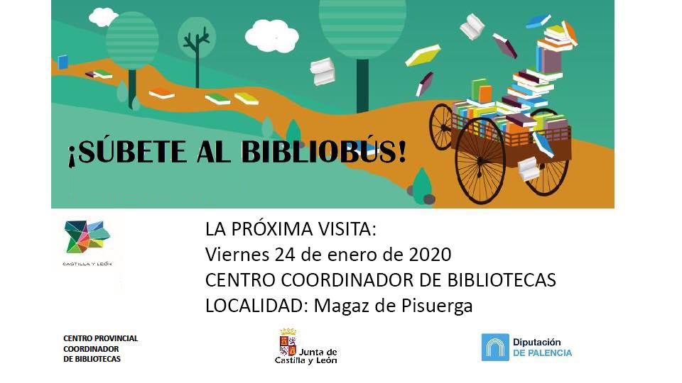 Súbete al bibliobús 24 de enero de 2020