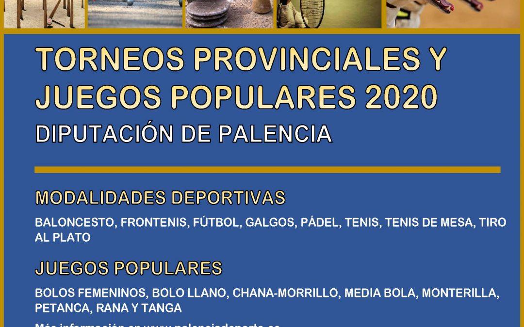 Torneos provinciales 2020 (Diputación de Palencia)