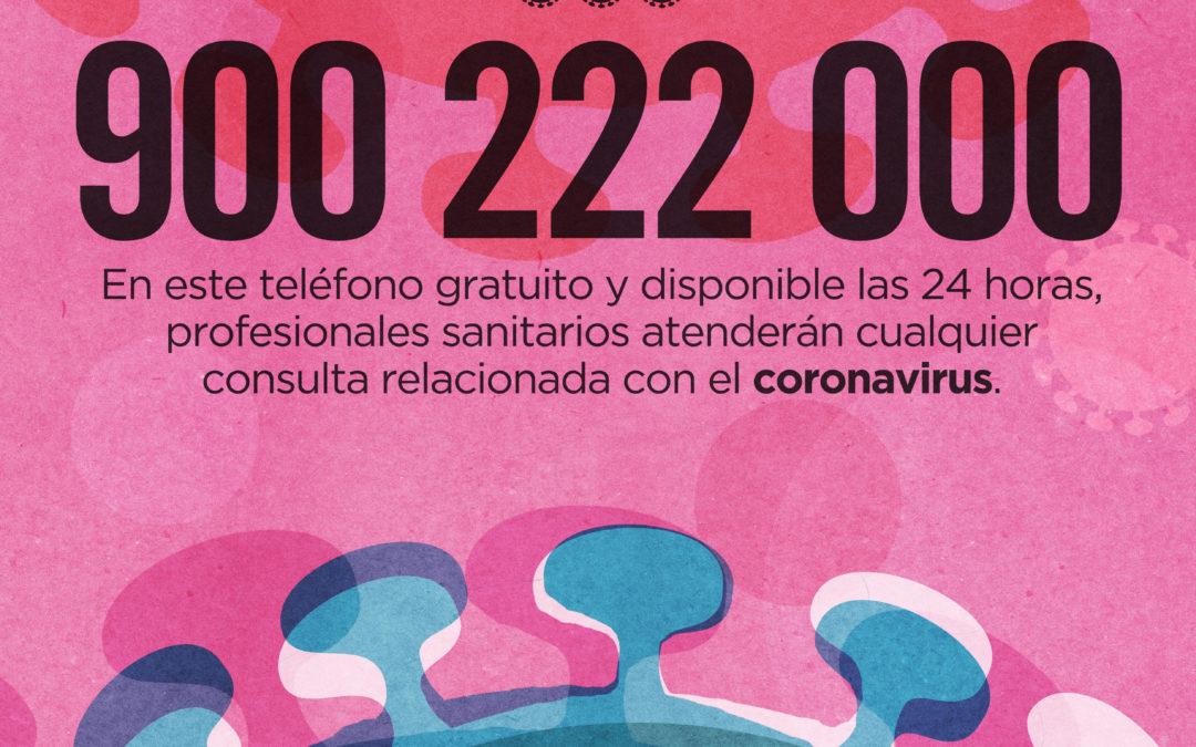 INFORMACIÓN Y MEDIDAS NUEVO CORONAVIRUS COVID-19