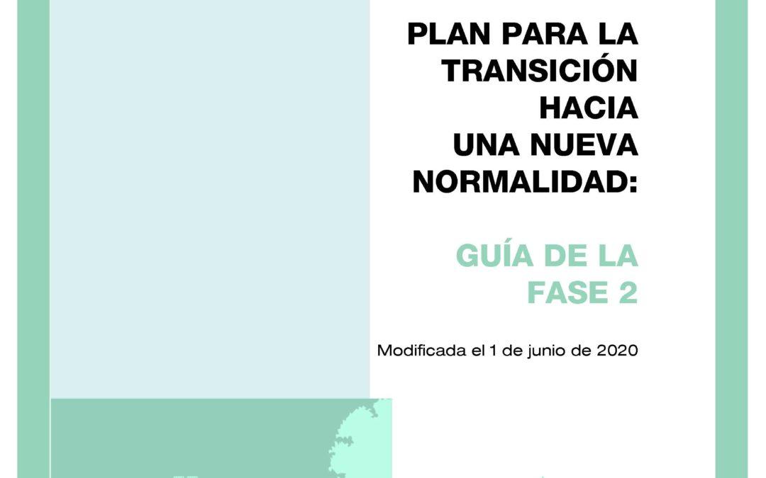 PLAN PARA LA TRANSCIÓN HACIA UNA NUEVA NORMALIDAD: GUÍA DE LA FASE 2