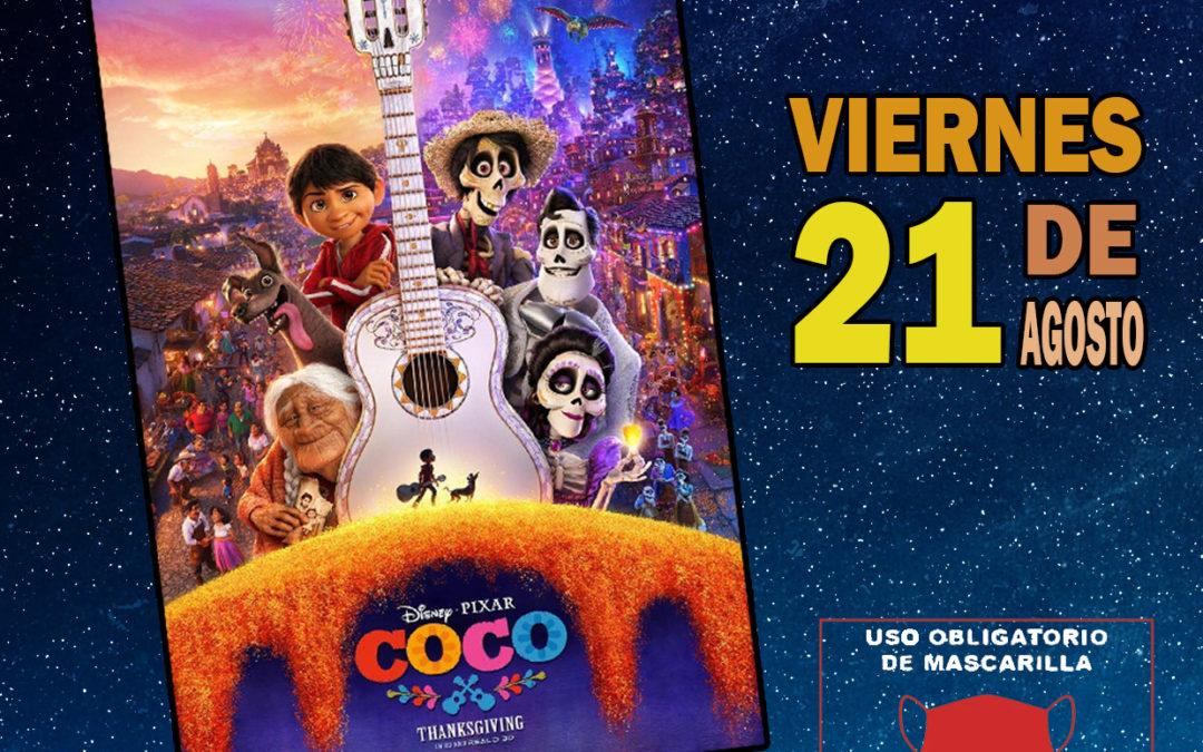Cine de verano en la Plaza España