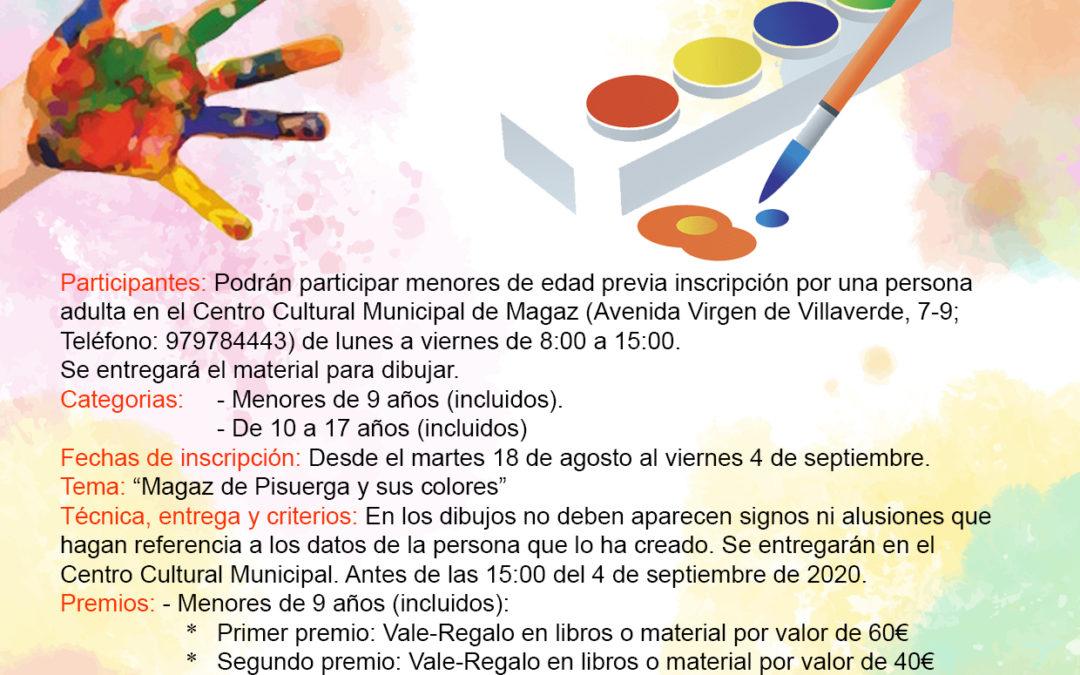 Concurso de dibujo infantil con acuarelas